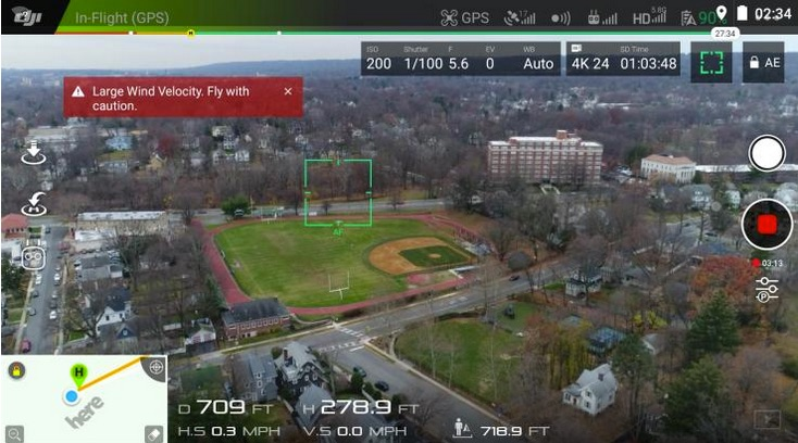dji-phantom-4-pro-flying-view